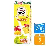 光泉果汁牛乳200ml*6入