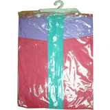 EXTRA前開式PVC雨衣122cm±5%(桃紅XXL)