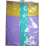 EXTRA前開式PVC雨衣122cm±5%(紫XXL)