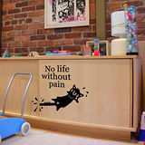 【ORIENTAL創意壁貼】No Life Without Pain
