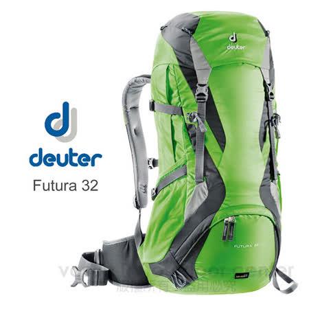 utura 32 32L+4L  網架透氣健行登山背包