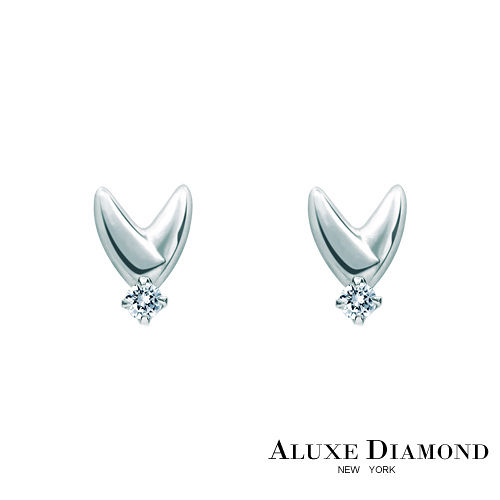 ALUXE DIAMOND亞立詩鑽石 My Angel 0.06克拉美鑽耳環