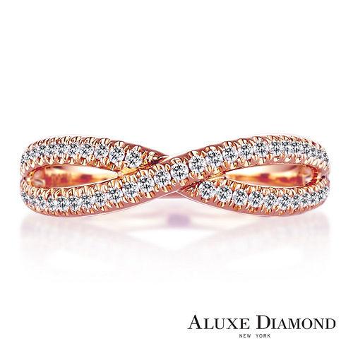 A-LUXE 亞立詩鑽石 總重0.25克拉 奢華美鑽戒指