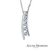 A-LUXE 亞立詩鑽石 Happiness系列 14分美鑽項鍊