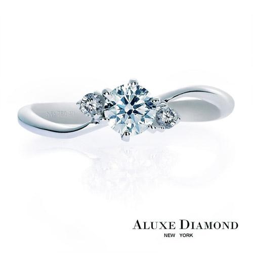 A-LUXE  亞立詩鑽石 0.30克拉F VS2 頂級完美H&A車工 求婚鑽戒