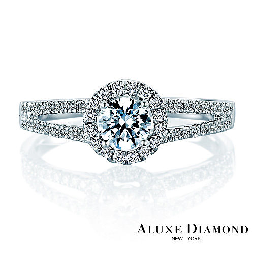 A-LUXE 亞立詩鑽石 環繞珠寶系列0.30克拉F VS2 3EX 求婚鑽戒