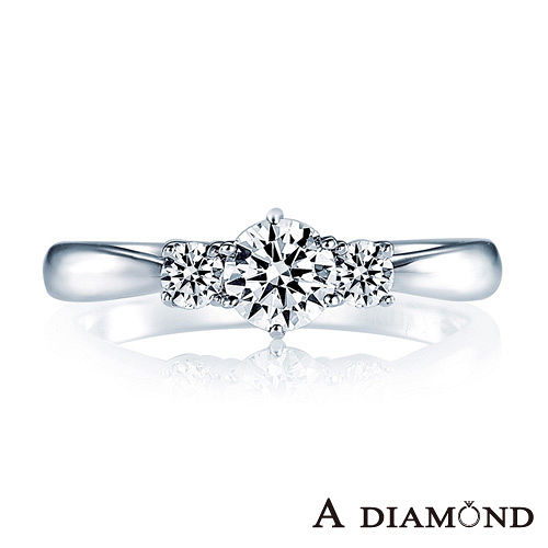 A-LUXE  亞立詩鑽石 0.30克拉F VS2 3EX完美車工 求婚鑽戒