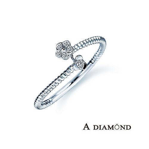 A-LUXE 亞立詩鑽石 The Encounter系列 18K金 美鑽戒指