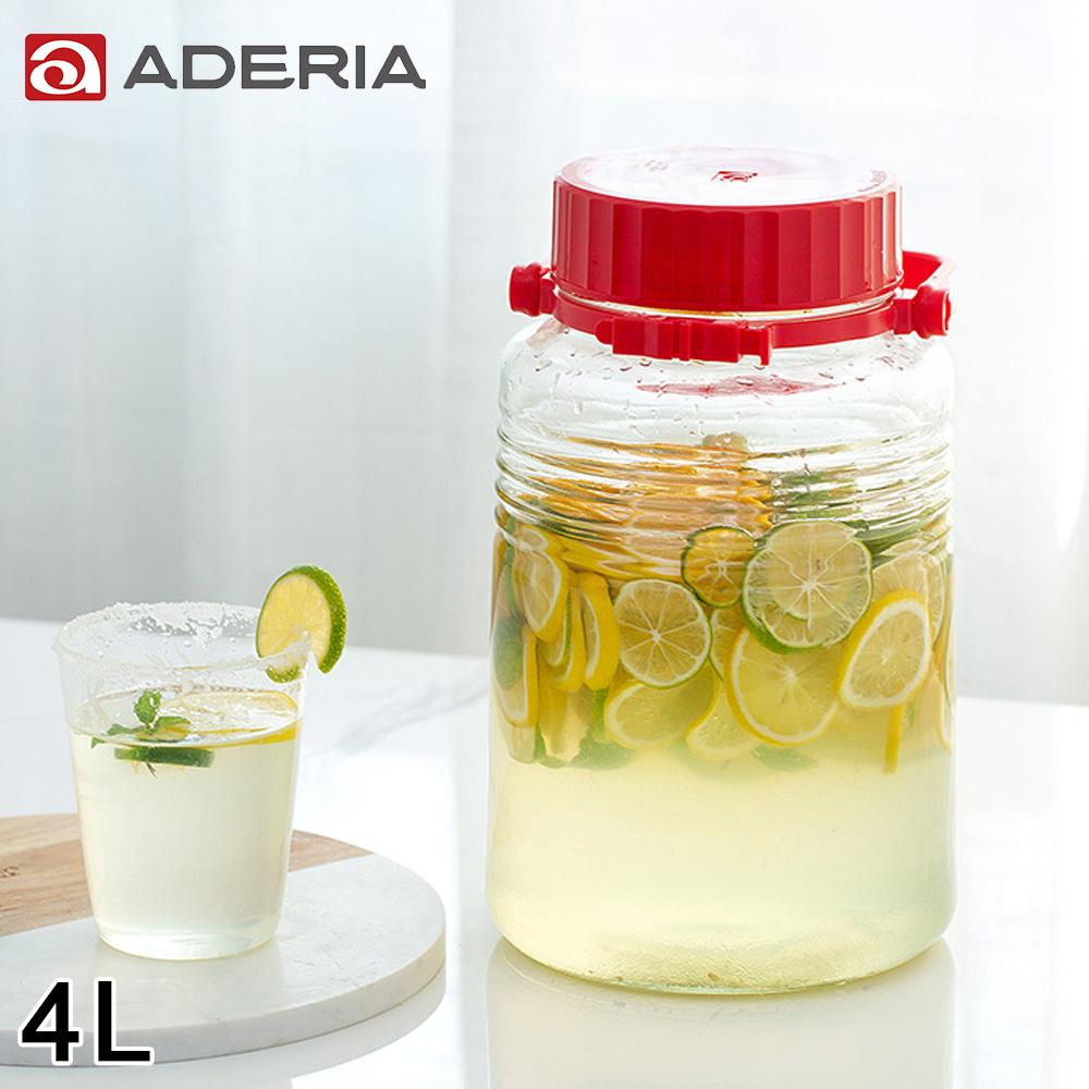 ~ADERIA~ 手提式玻璃瓶4L