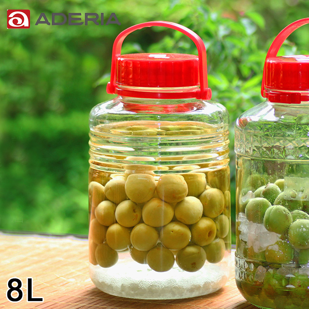 ~ADERIA~ 手提式玻璃瓶8L