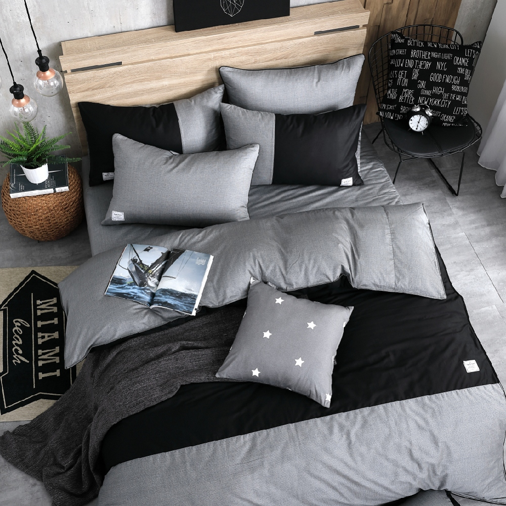 OLIVIA《 CHOCOLATE 》特大雙人床包枕套三件組 設計師原創系列