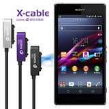 ◆WSKEN鋁合金頭!! 磁吸充電線◆索尼 Sony Xperia Z2 Z3 D6653 Z3 Compact Z2 Tablet Z Ultra Z1 Z1 Compact Z2a 磁力充電線