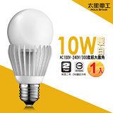 【太星電工】大廣角LED燈泡10W/暖白光(1入)      A510L.