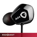 RedGiant紅巨星A04 INCUS耳道式耳機(淬鍊黑)