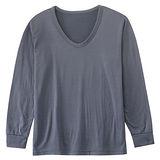 男士刷毛圓領保暖衣(M~XL)