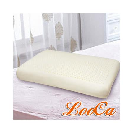 【LooCa】加強護頸基本型乳膠枕(2入)