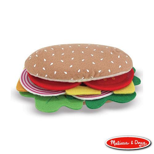 美國瑪莉莎 Melissa & Doug 毛氈玩食趣 - 三明治組