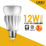 【太星電工】大廣角LED燈泡12W/暖白光(6入) A512L*6