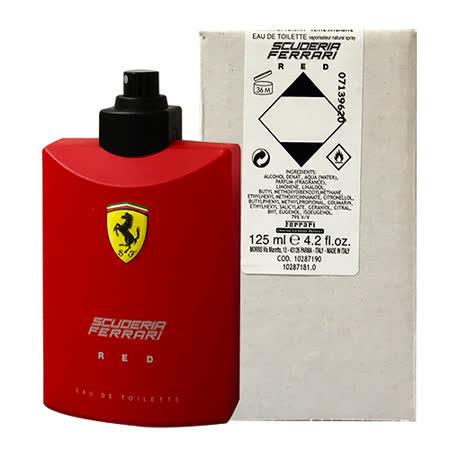 FERRARI 紅色法拉利 男性淡香水125ml