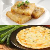 【禎祥食品】團購熱銷★港式蘿蔔糕50片+山東蔥油餅10片(好康共60片)