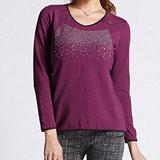 【Bich Loan】天然材質體感發熱上衣(紫)16008002