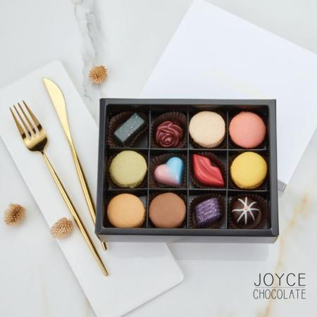 JOYCE 綜合巧克力禮盒(12入)