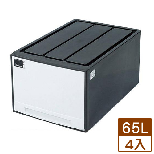 【4件超值組】KEYWAY 抽屜收納箱AM-65