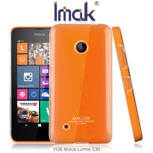 IMAK Nokia Lumia 530 羽翼II水晶保護殼
