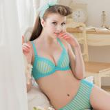 【瑪登瑪朵】15SS-我挺妳軟棉圈內衣 E-F罩杯 (心鑽藍)