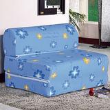 【AT HOME】哈麗雅3尺彈簧沙發床
