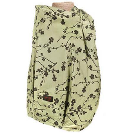 【FONDANT BABY】哺乳遮蓋布披肩(小梅花咖啡綠) -friDay購物