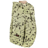 【FONDANT BABY】哺乳遮蓋布披肩(小梅花咖啡綠)