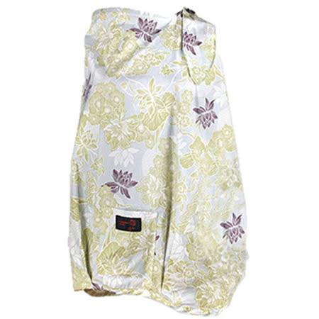 【FONDANT BABY】哺乳遮蓋布披肩(唯美荷花水藍) -friDay購物
