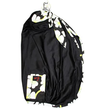 【FONDANT BABY】哺乳遮蓋布披肩(黑色白邊) -friDay購物