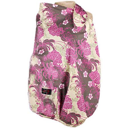 【FONDANT BABY】哺乳遮蓋布披肩(紫色菊花) -friDay購物