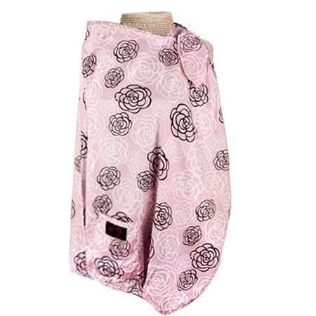 【FONDANT BABY】哺乳遮蓋布披肩(粉色玫瑰) -friDay購物