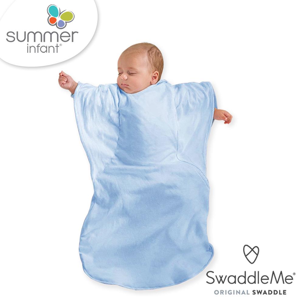 美國Summer Infant 小蝴蝶背心睡袋-天空粉藍
