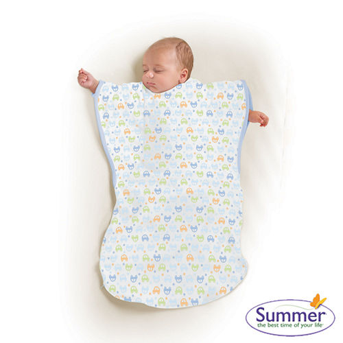 美國Summer Infant 小蝴蝶背心睡袋-歡樂小車