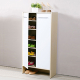 《Homelike》日式雙門高鞋櫃(二色可選)