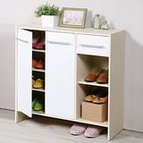 《Homelike》日式二門一抽鞋櫃(二色可選)