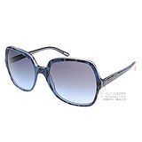 DOLCE&GABBANA太陽眼鏡 時尚星鏡#藍豹紋DG4098 17538F