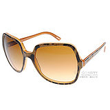 DOLCE&GABBANA太陽眼鏡 時尚星鏡#綠豹紋DG4098 17552L
