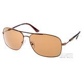 ALVIERO MARTINI太陽眼鏡 地圖珍品#古銅棕MK0206 MML