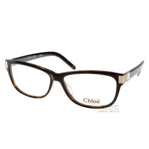 CHLOE光學眼鏡 (琥珀色) #CL2607 219