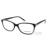 Tiffany&CO.光學眼鏡 珍愛甜美愛心典藏款 (黑) #TF2097 8055