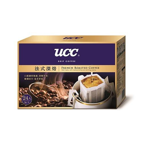 UCC法式深焙濾掛式咖啡8g*24