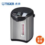 【 TIGER 虎牌】日本製4.0L超大按鈕電熱水瓶(PDU-A40R)買就送虎牌380CC保冷保溫食物罐