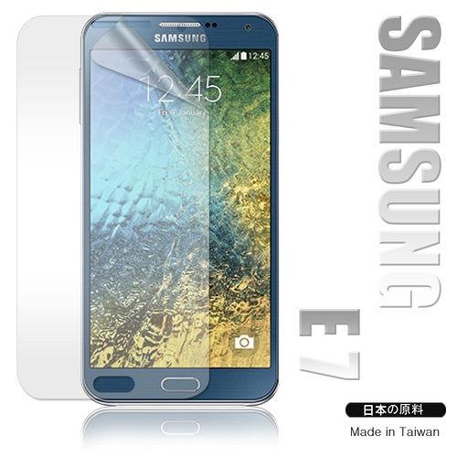 三星 Samsung Galaxy E7 / E7000 高透光亮面耐磨保護貼