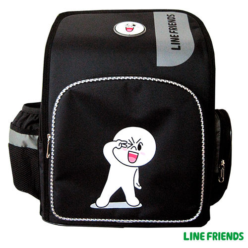 【LINE FRIENDS】MIT 舒壓護脊書包(B款_饅頭人)