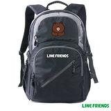 【LINE FRIENDS】運動休閒背包 (黑色)